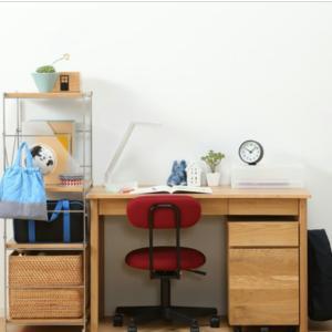 無印良品の学習机