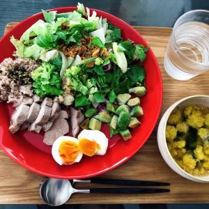 【ひびのこと】スーパーセール購入品とダイエットとお昼ご飯