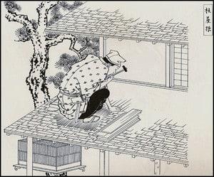 """幻の""""柾葺き屋根"""""""
