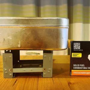 Esbitのポケットストーブでメスティン炊飯の自動化