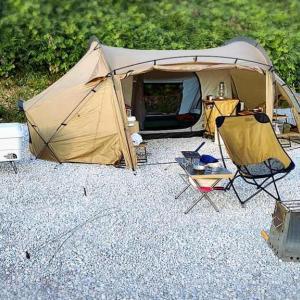 三木里脇もぎたてキャンプ場のソロサイトを利用してきました