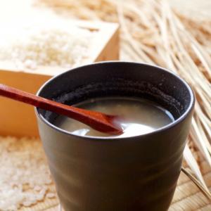 甘酒の健康効果でダイエット。朝食を豆乳甘酒に置き換える。