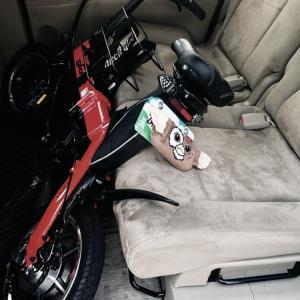 Glafitバイクの最大の問題点に直面・・・