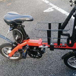 Glafitバイクに籠をつけてみた・・・