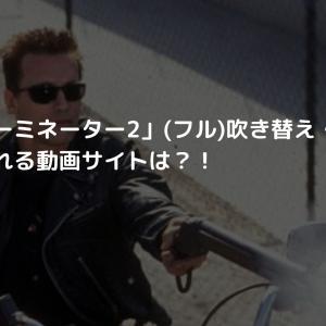 映画「ターミネーター2」(フル)吹き替え・字幕を無料で見れる動画サイトは?!