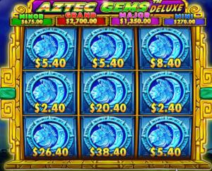 ベラジョンカジノ スロット ベラジョン先行配信 ジャックポット狙える Aztec Gems Deluxe