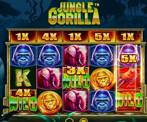 ベラジョンカジノ スロット 新しいタイプのゲームフロー Jungle Gorilla