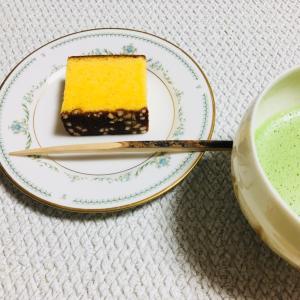 【和菓子】松翁軒「五三焼カステラ」