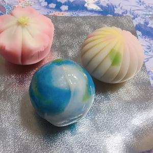 【和菓子】清月堂本店「上生菓子・誕生〜地球〜(日本橋三越限定)」(東京都)