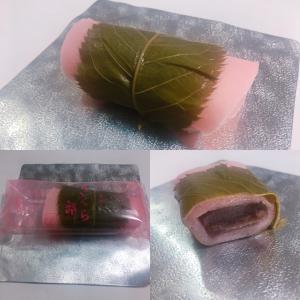 【和菓子・長命寺桜餅(関東型)】森八「さくら餅」(石川県)