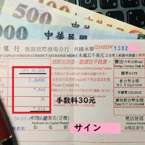 台北桃園空港の銀行の両替レートは高い?!日本円から元に【台湾旅行】