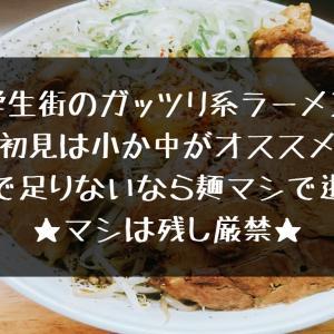 【ガッツリ系】マキシマムザラーメン初代極【ラーメン】