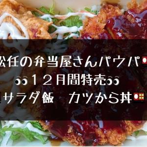 【松任のお弁当屋】パウパ からカツ丼【サラダ飯】