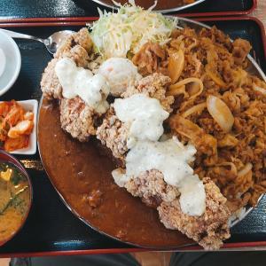 小松市のガッツリ店【男飯ロッキー】ランチ営業のみ?大盛に気をつけろ。腹パンランチで満腹