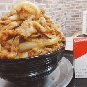 小松市のガッツリメガ盛り店【男飯ロッキー】大盛が一般的なお店の特盛くらい?すた豚丼大盛