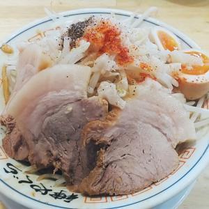 金沢のガッツリ系ラーメン【神やぐら】やぐ盛り鬼油そば