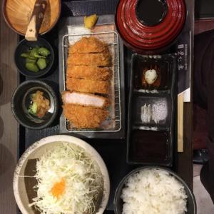 東海道 その5/東京 東京駅「鹿児島 黒かつ亭 東京駅店」(再訪)2019年10月3日