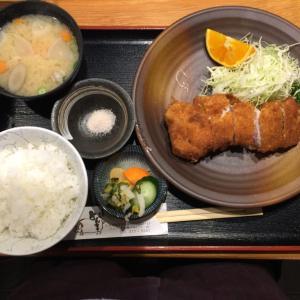 「特選ロースかつ定食」(広島 草津新町「とんかつ専門 とんき」)~黒豚の旨味溢れる厚切りロースかつ