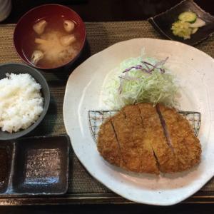 「特厚切り上ロースかつ定食(200g)」(大阪 西天満「とんかつ 真」)