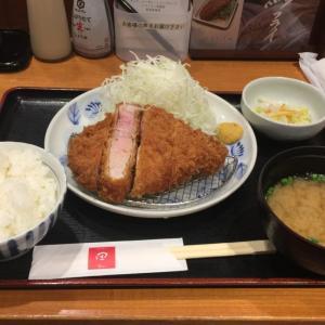「厳選特上ロースかつ定食(180g)」(東京 東陽町「とんかつ 田 東陽町店」))