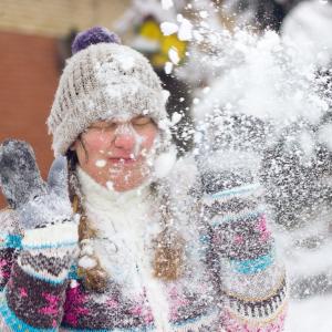 雪合戦を条例で禁止している町