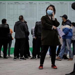 コロナ危機による中国の失業者は8千万人との見方