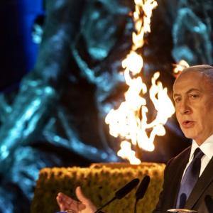 イスラエルのネタニヤフ首相への賞賛と批判