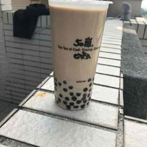 台湾の飲み物!(4)ボバミルクティー