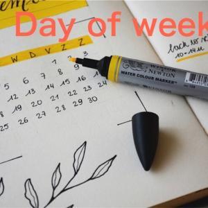 曜日を英語で略す時の表記方法は?【3種類紹介!】