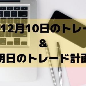 【デイトレろぐ】2019年12月10日取引結果はマイナス!