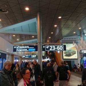 ヘルシンキ空港でも焦る