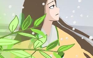 比叡坂本、雪の朝の思い出【建礼門院右京大夫集あらすじマンガ】