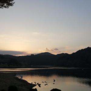 秋の訪れ志高湖キャンプ場で10月キャンプ!!いつもの孤独なソロキャンプ7②