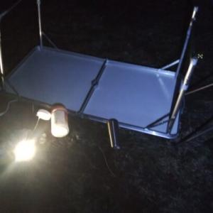 """キャンプの時に強風でテントが""""吹っ飛ばされた話""""と風が強い時の対策"""