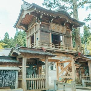 樹齢2000年の門杉がある普門山 大圓寺