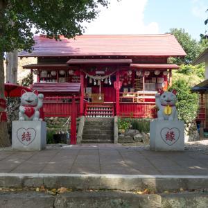 全国から訪れる縁結びの鹿角八坂神社