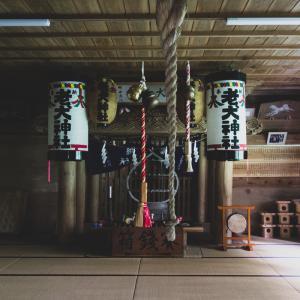 シロという忠犬が祀られている老犬神社