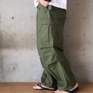 【M-65】フィールドパンツのサイズ感、コーデ、年代別の特徴をレビュー