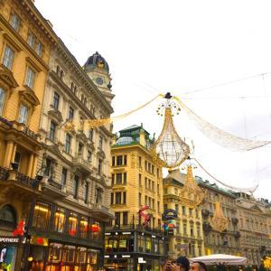 ウィーンの街はキレイ
