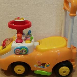 【アンパンマン よくばりビジーカー】レビュー!つたい歩きの練習もできる乗り物おもちゃ