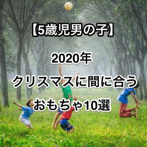 【5歳児男の子限定】2020年プレゼントして欲しいおもちゃ10選!