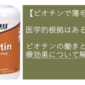 【ビオチンの薄毛治療効果】このビタミンで薄毛は改善される?医学的根拠と一緒に薄毛治療効果を解説
