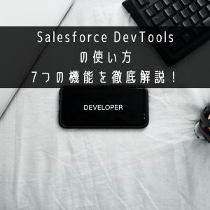 Salesforce DevToolsの使い方 7つの機能を徹底解説!