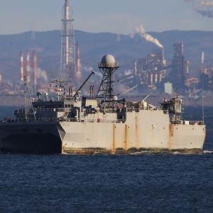 音響測定艦 T-AGOS-21『エフェクティブ』