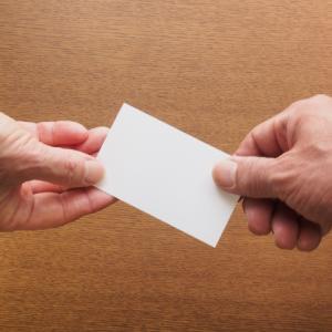 Q.『名刺を貰えないのはもう会いたくないってこと?』