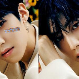 【MVが公開されました】8月31日に『Beautiful Scar』でソロデビューのイ・ウンサン、ジャケット写真の顔の傷が「かわいそう」と絆創膏で隠すファン続出でフリー素材化している件