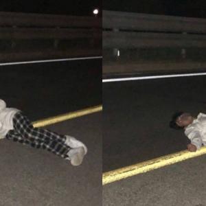 『高等ラッパー』優勝者ヤン・ホンウォン、路上でお尻丸出し&寝そべったまま喫煙する姿をSNSに投稿でネット上ザワつく