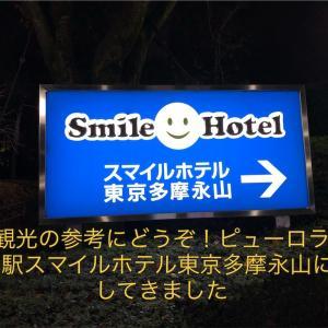 東京観光の参考にどうぞ!ピューロランドから1駅スマイルホテル東京多摩永山に宿泊してきました