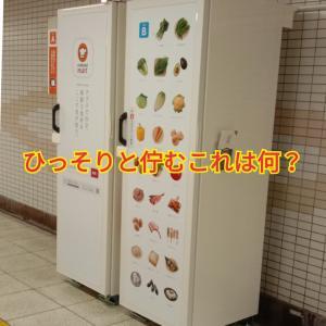 駅で発見した不思議なボックス!!