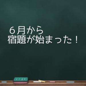 【子育て】6月から始った〜〜〜!!